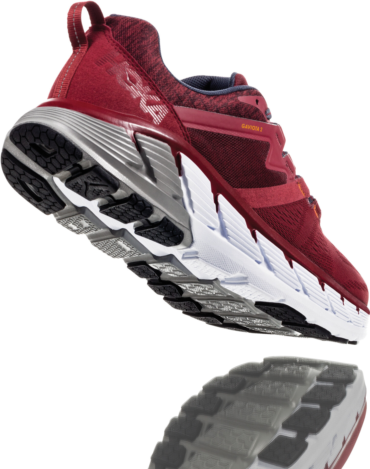 competitive price bfcd3 4b118 Hoka One One Gaviota 2 Running Shoes Men rio red/dark slate